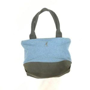 Kangol Blue and Grey Bermuda Small Shopper Bag